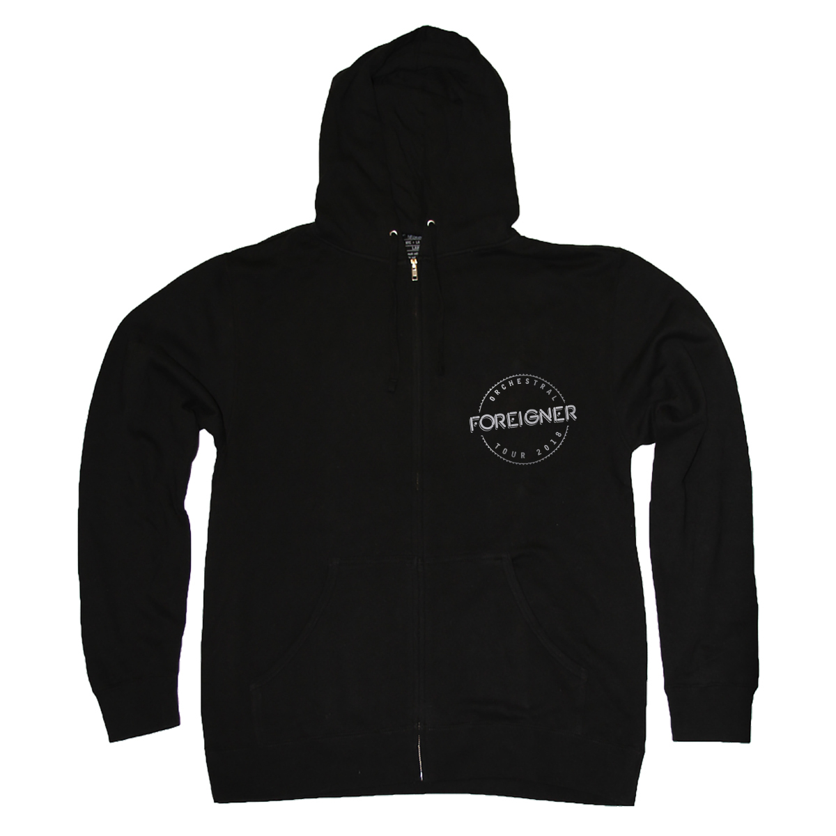 Foreigner Classic Full-Zip Hoodie