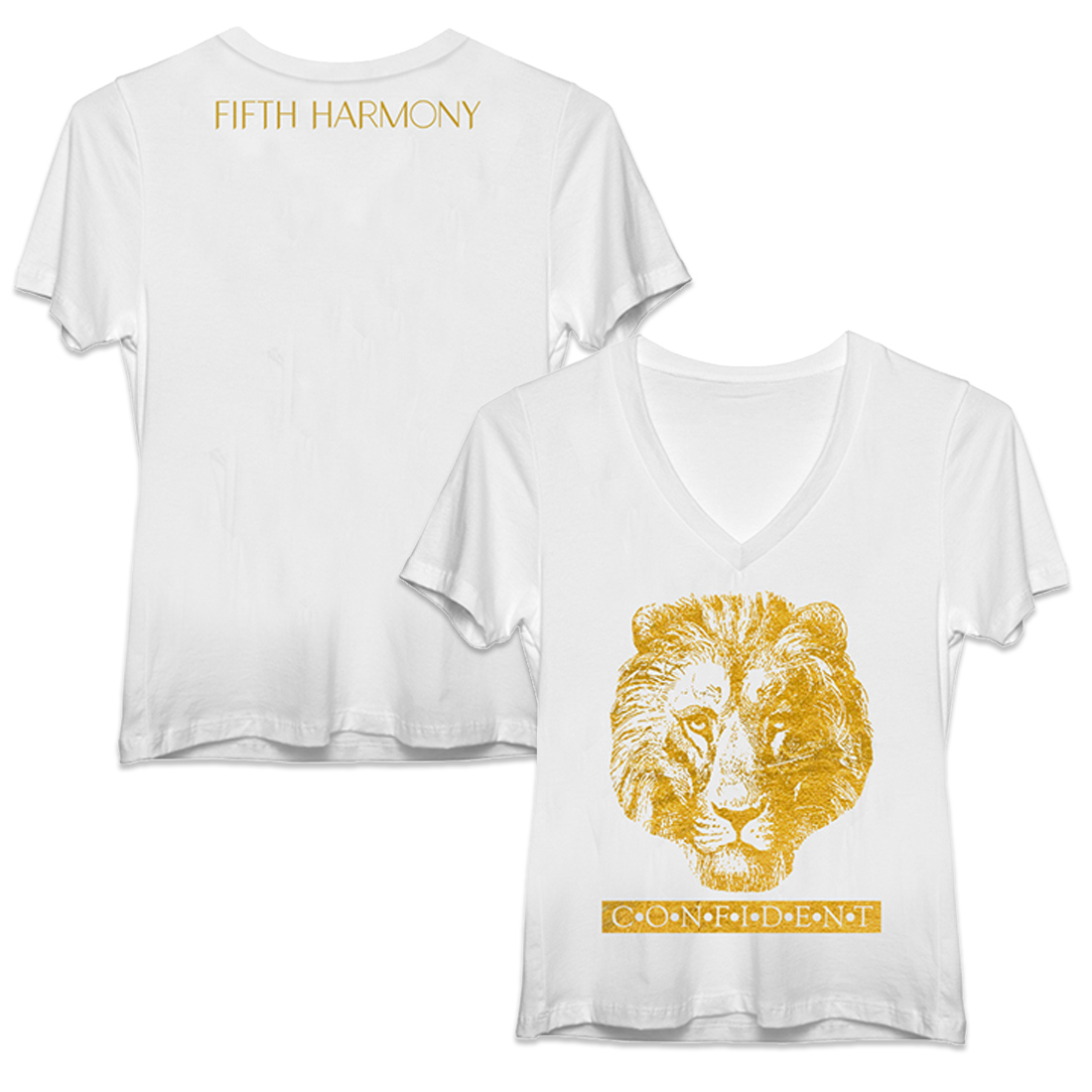 Fifth Harmony Confident Lion T-Shirt
