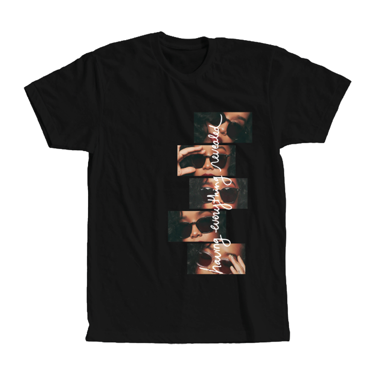 H.E.R. Image Stack and Lyrics Black T-Shirt