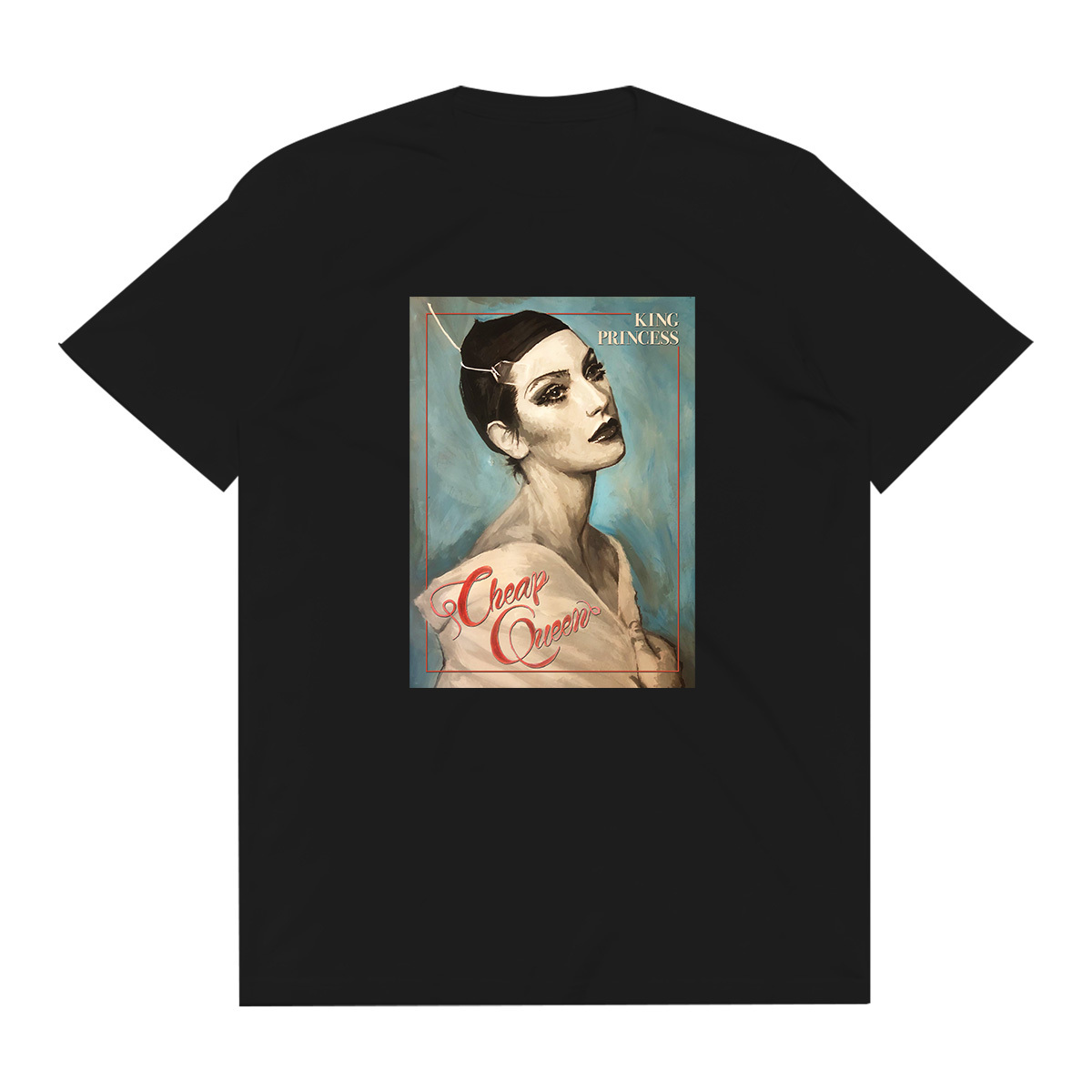 Blue Oil Painting Tee