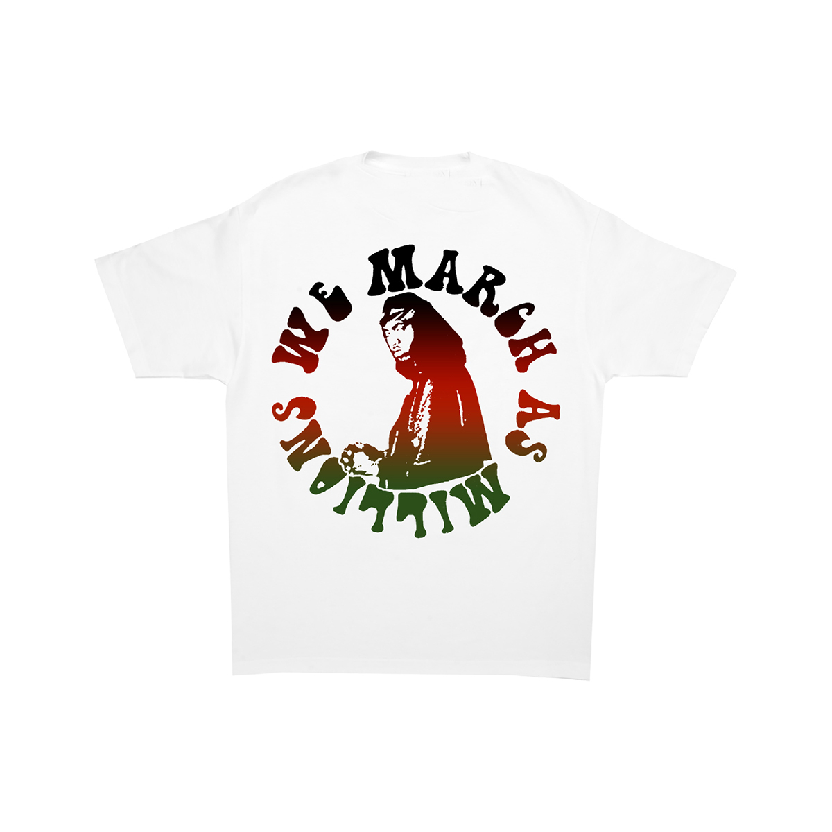 Nas We March as Millions T-shirt