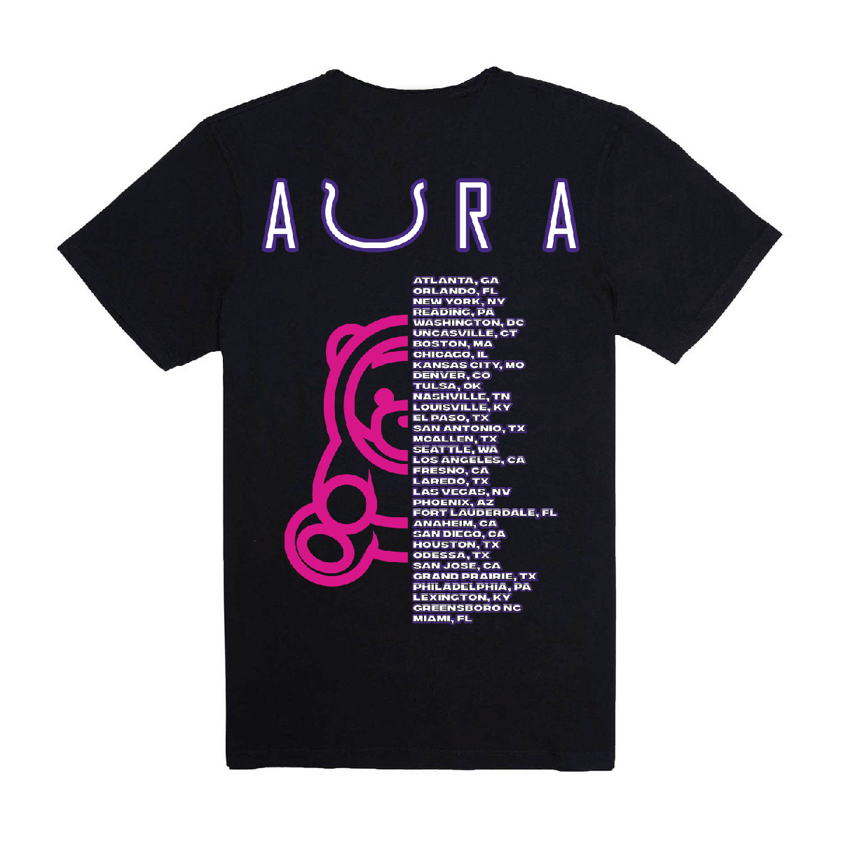 Ozuna Aura Tour T-shirt