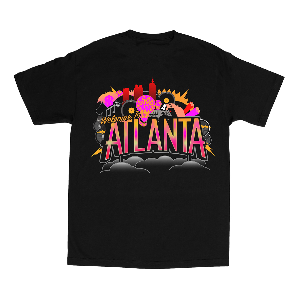 So So Def - Black Atlanta T-shirt