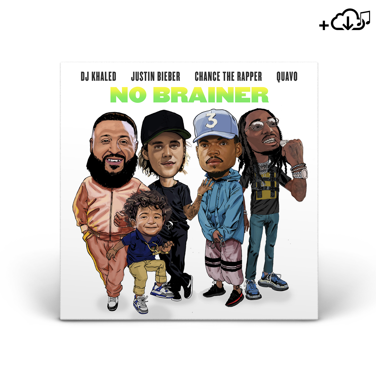 DJ Khaled - No Brainer Single Featuring Justin Bieber, Quavo & Chance The Rapper