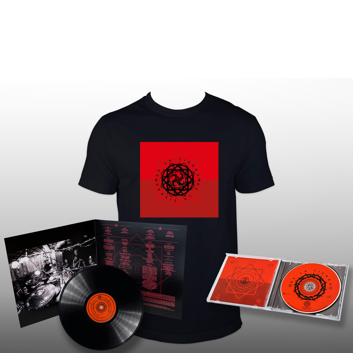 De La Tierra II LP + CD+ T-shirt Bundle