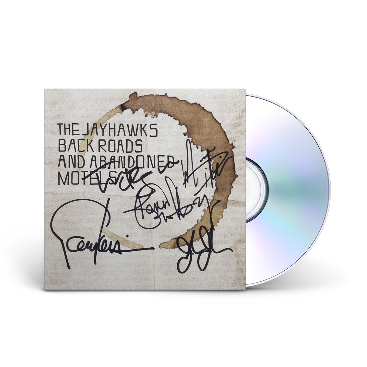 Back Roads and Abandoned Motels SIGNED CD