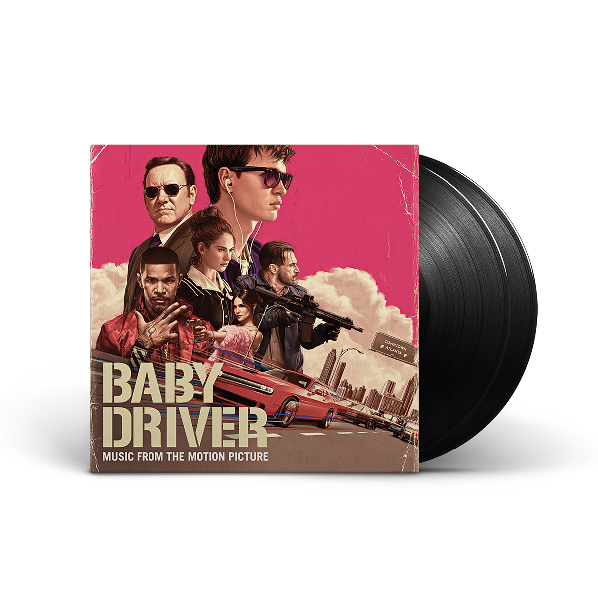 Music From The Motion Picture Baby Driver 2 Disc Lp