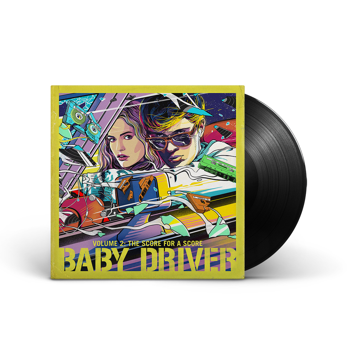 Baby Driver Volume 2: The Score for a Score LP
