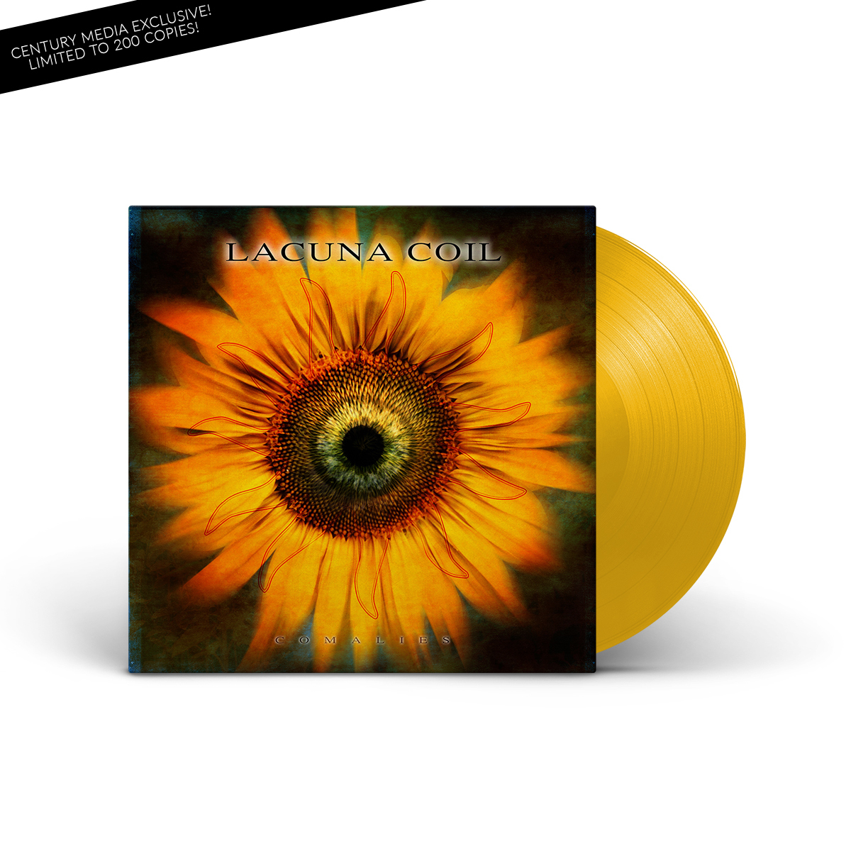 Lacuna Coil - Comalies (Re-issue 2019) Yellow Vinyl LP