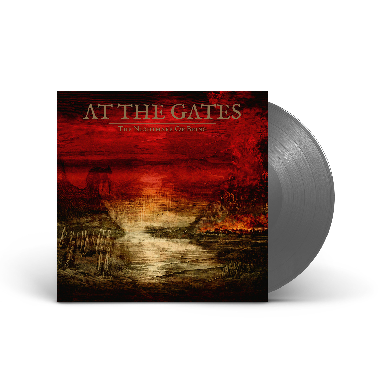 At The Gates - The Nightmare of Being Black Ice Vinyl LP + Digital Download