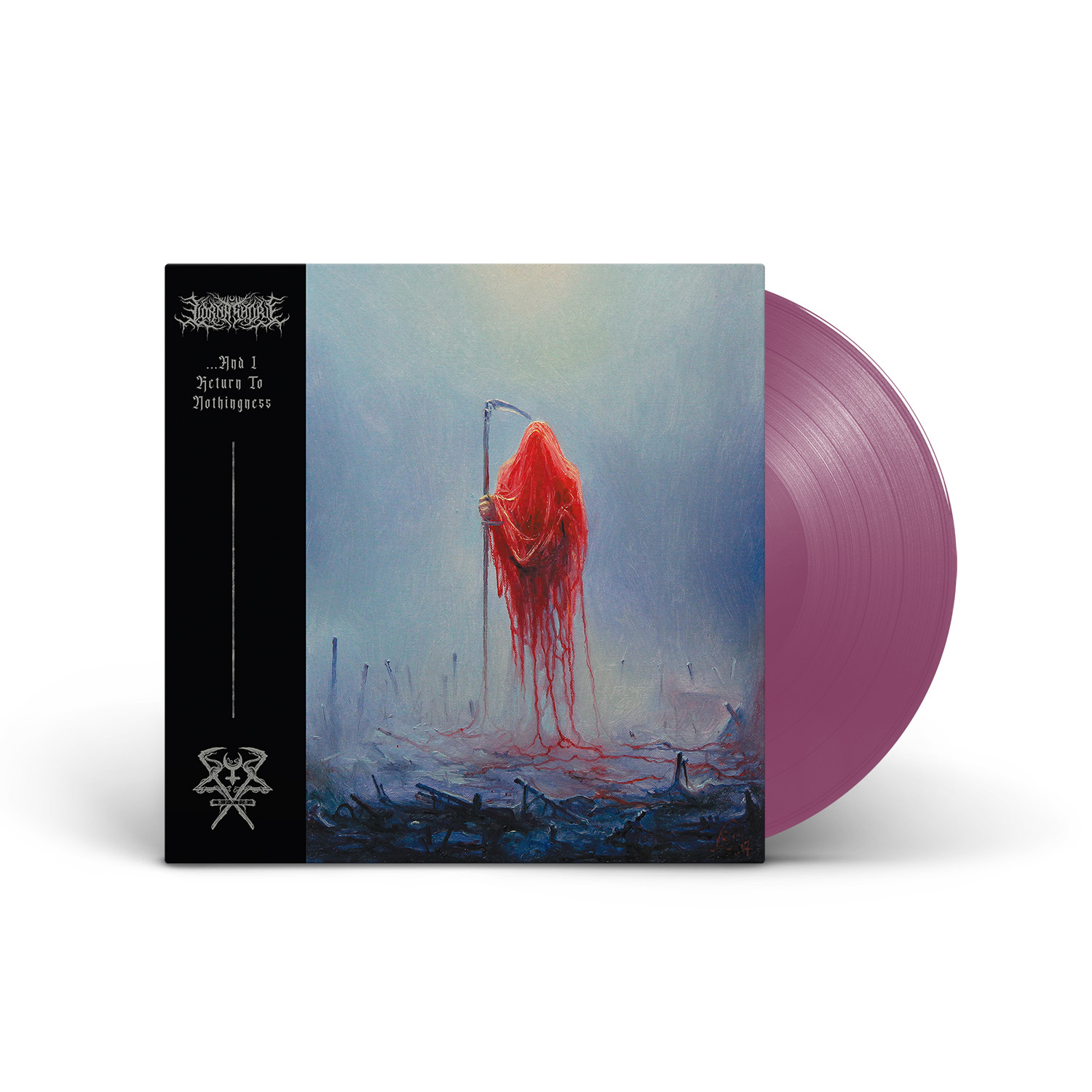 Lorna Shore - ...And I Return To Nothingness Orchid Vinyl LP with Etching on Side B + Digital Download