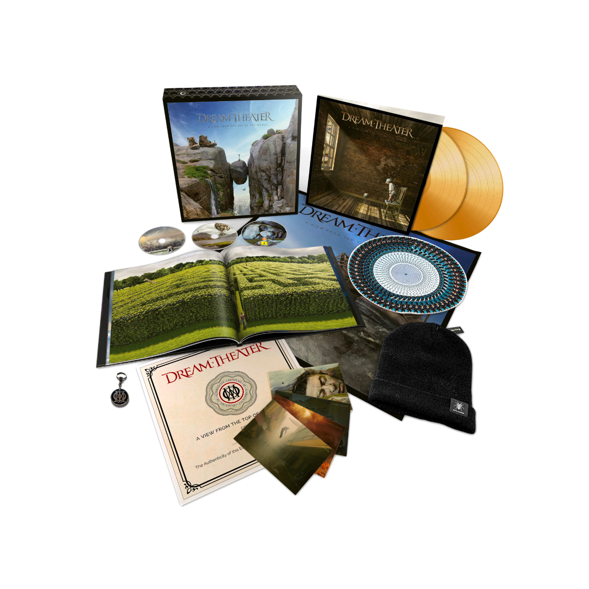 Dream Theater - A View From The Top Of The World Ltd. Deluxe Box Set 2LP + 2CD + Blu Ray + Digital Download