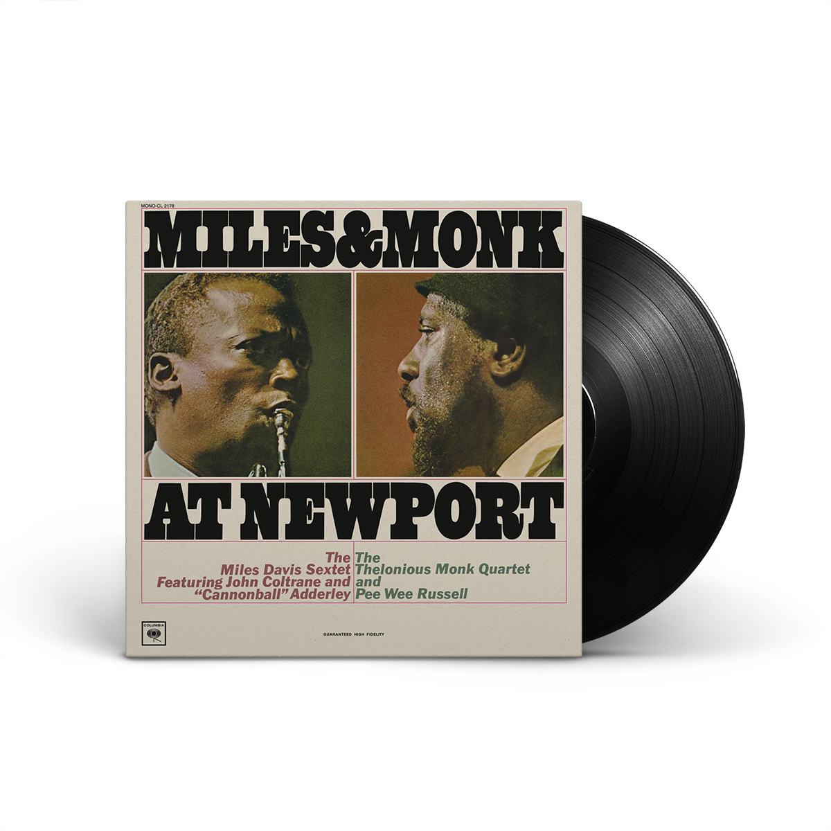 Miles & Monk At Newport LP
