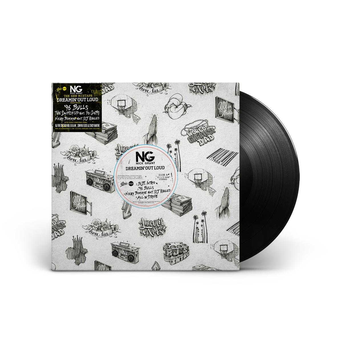 Dreamin' Out Loud AUTOGRAPHED 2-LP