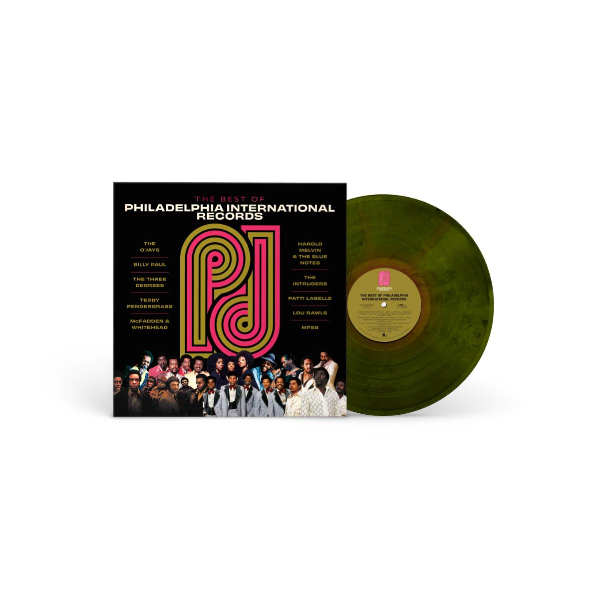 The Best Of Philadelphia International Records Green Swirl Vinyl (Spotify Exclusive)