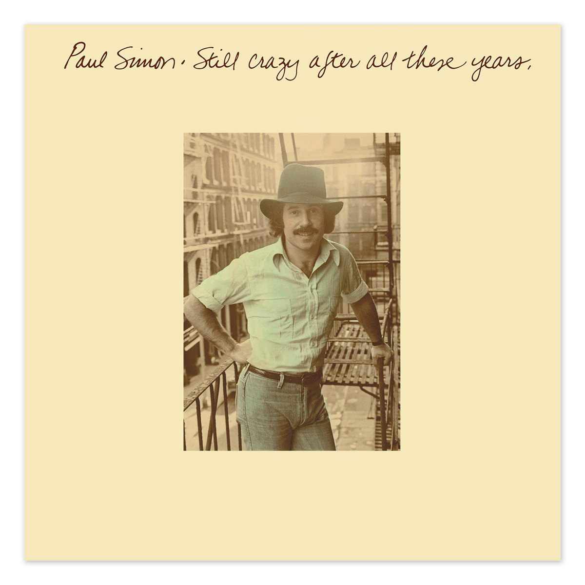 Paul Simon Still Crazy After All These Years LP
