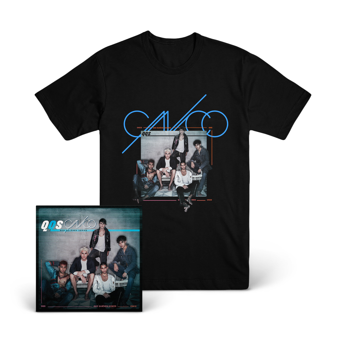 Que Quiénes Somos Album Cover T-Shirt + Digital Download