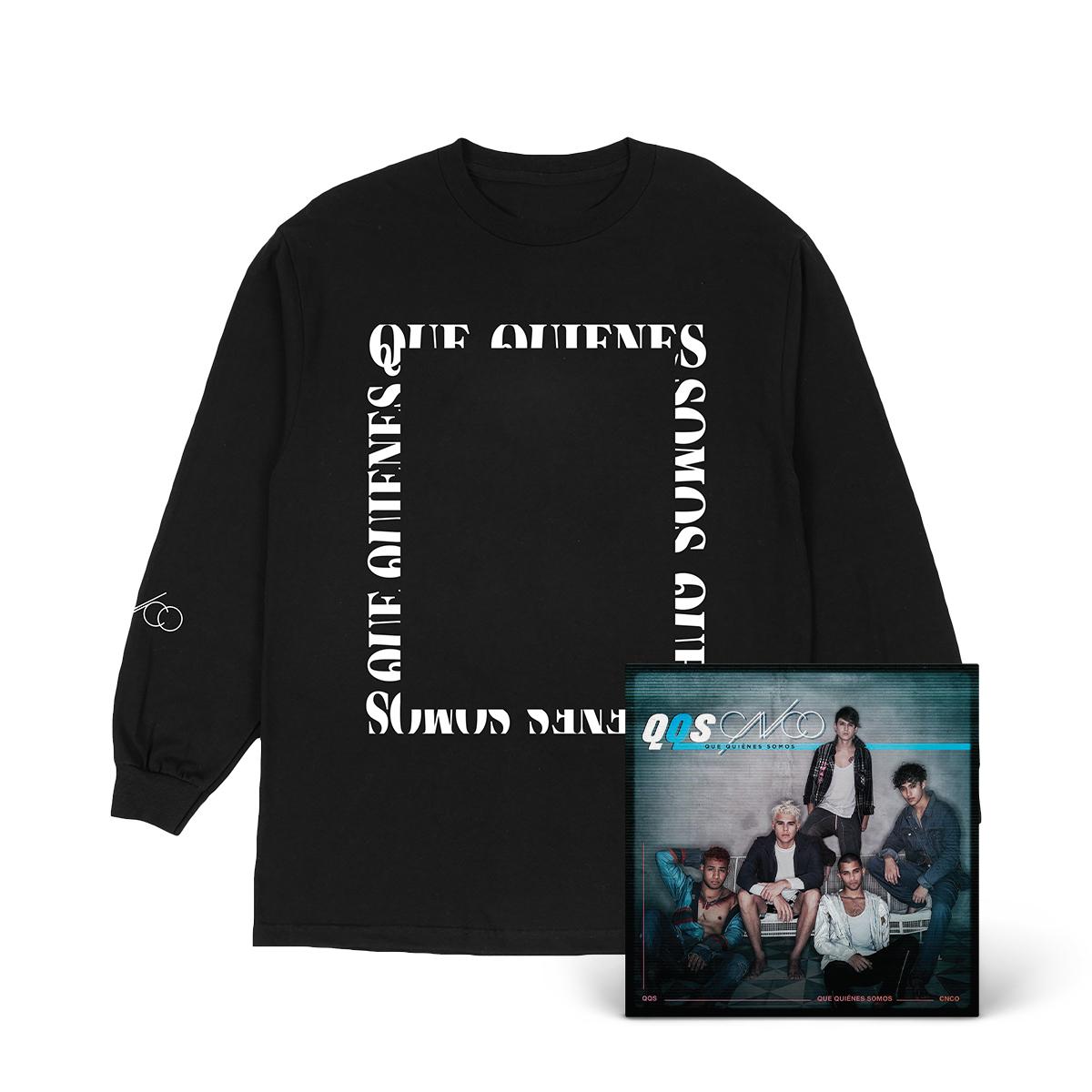 QQS Black & White Photo Long Sleeve + Digital Album
