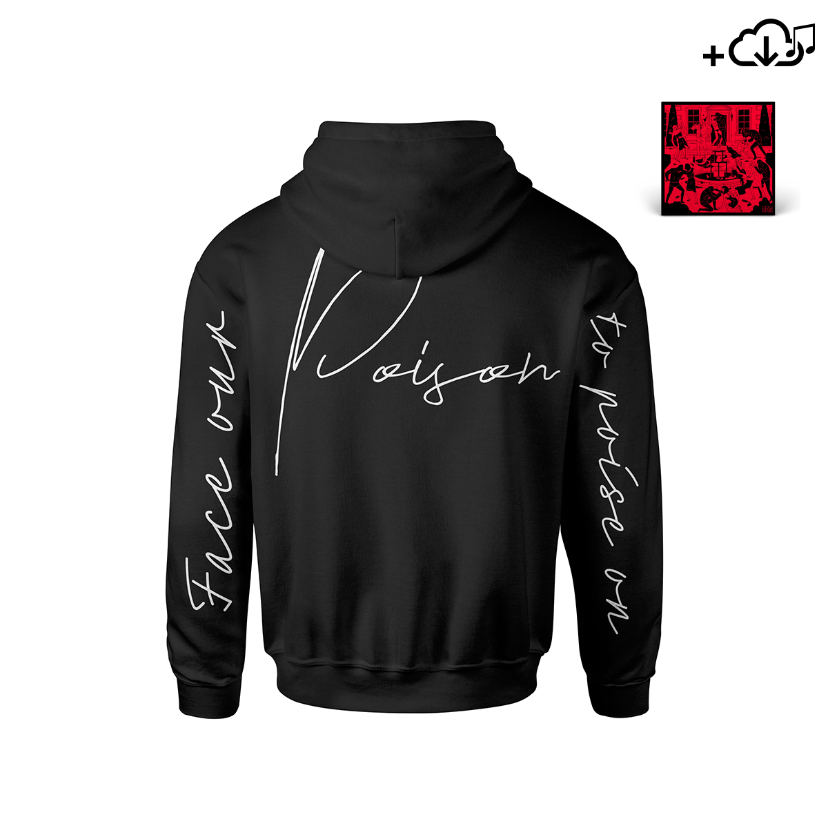Poison Cover Pullover Hoodie + Poison Digital Download