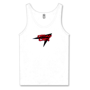 Women's Stray Cats Logo Ribbed Tank