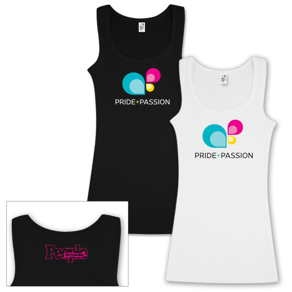 Festival People en Español Pride + Passion Tank Top