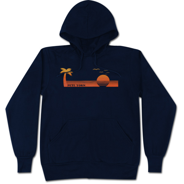 Navy Blue Sunset Hoodie