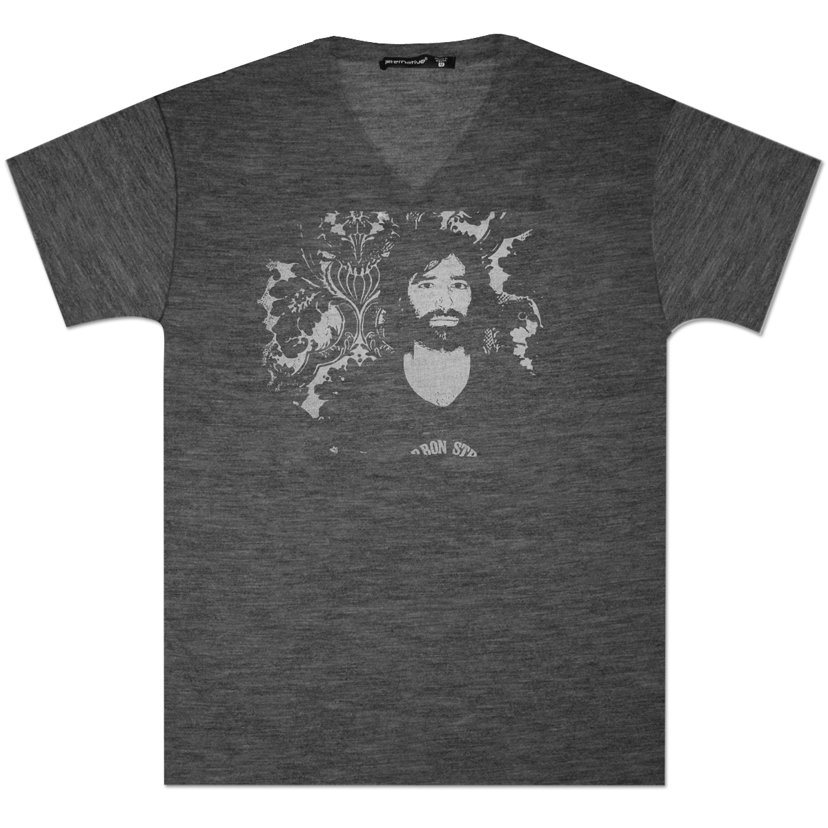 Men's Burnout Face Tee