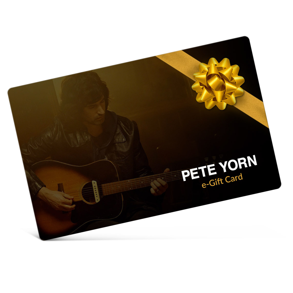Pete Yorn Electronic Gift Certificate