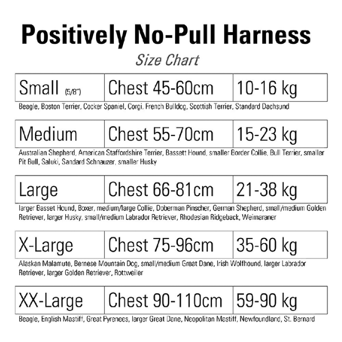 Positively No-Pull Harness
