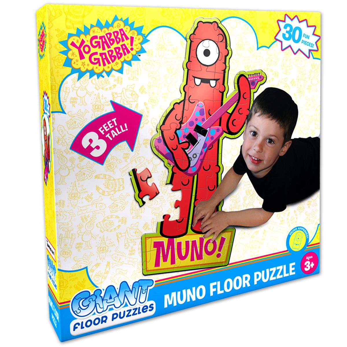 Yo Gabba Gabba! Muno Giant Floor Puzzle