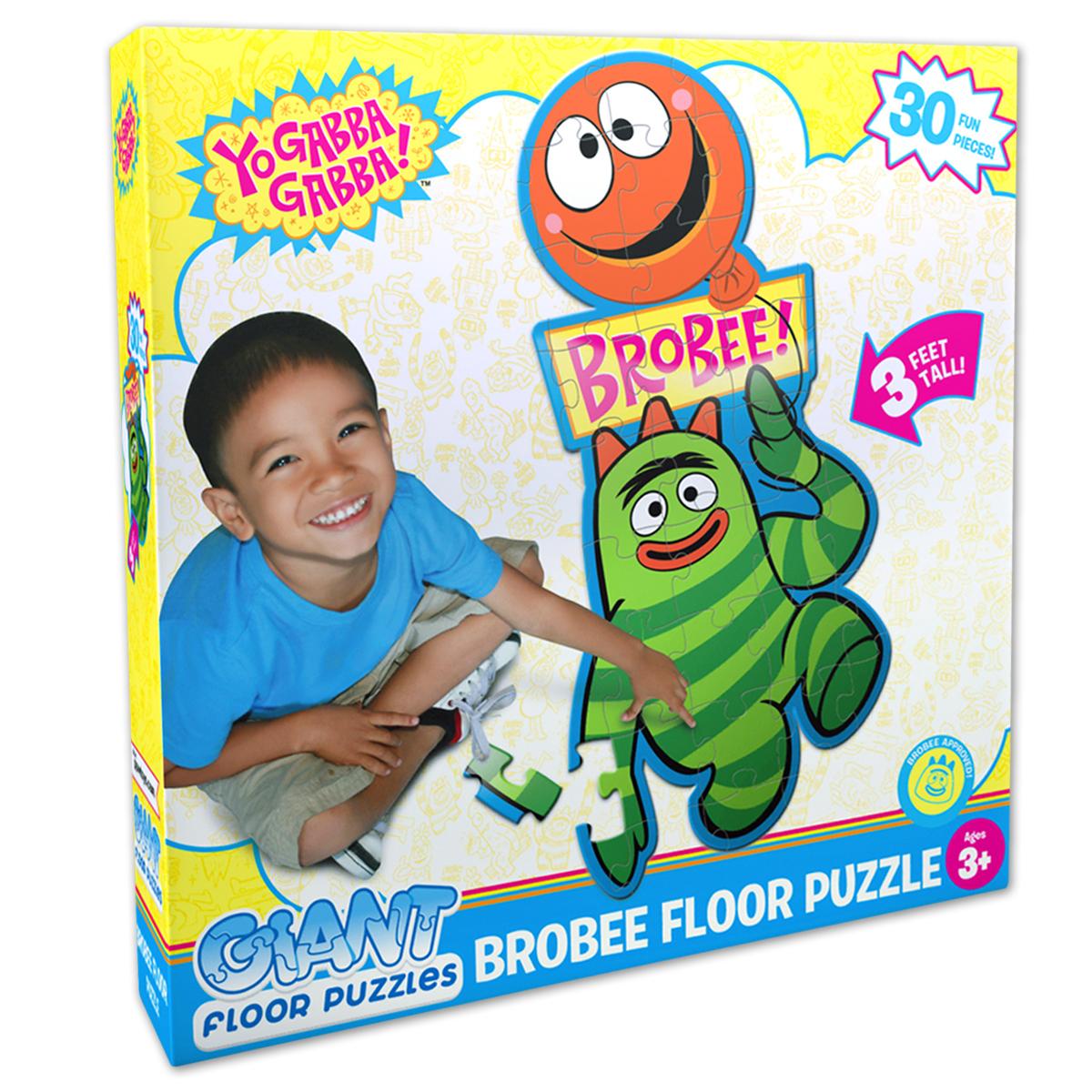 Yo Gabba Gabba! Brobee Giant Floor Puzzle