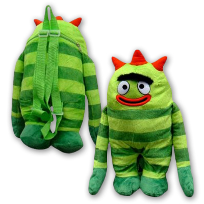 Yo Gabba Gabba! Brobee Plush Backpack