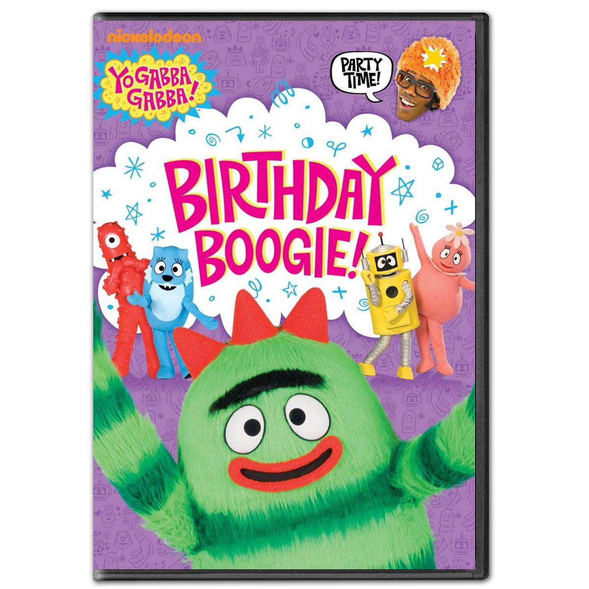 Yo Gabba Gabba! Birthday Boogie DVD