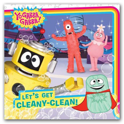 Let's Get Cleany-Clean Book