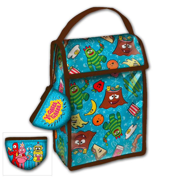 Yo Gabba Gabba! Lunch Bag w/Coin Purse