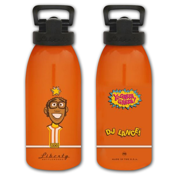 DJ Lance Kids Water Bottle (16oz)