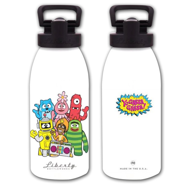 Yo Gabba Gabba! Kids Water Bottle (16oz)