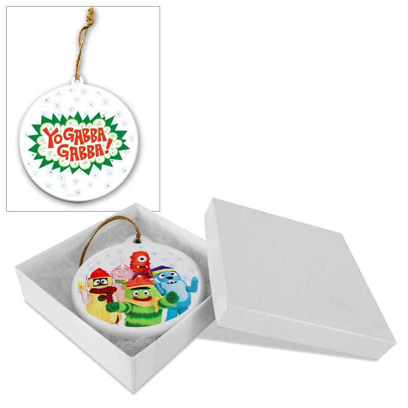 Yo Gabba Gabba! Holiday Ceramic Ornament