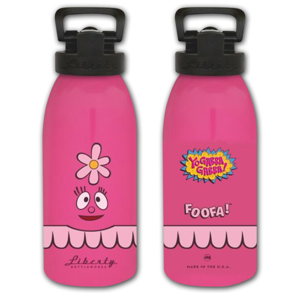 Foofa Kids Water Bottle (16oz)