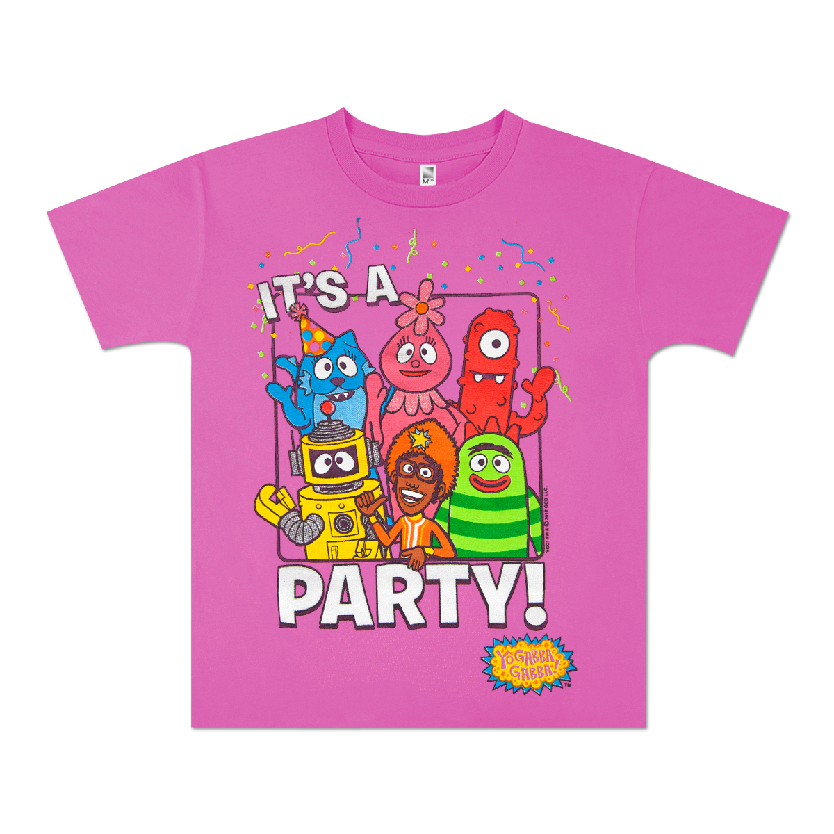 "Yo Gabba Gabba! ""It's a Party"" Toddler T-shirt"