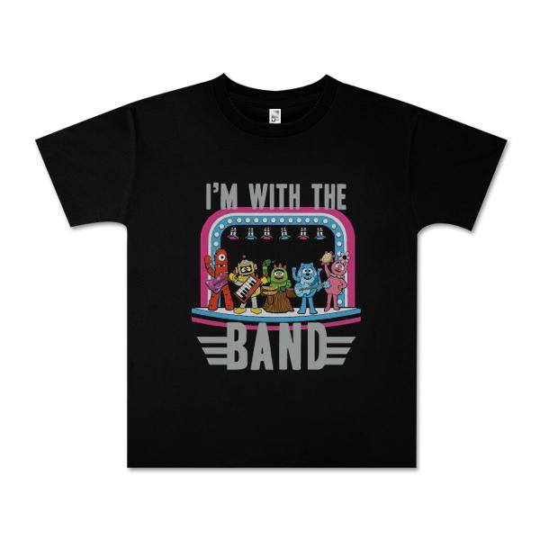 "Yo Gabba Gabba! ""I'm With The Band"" Junior T-shirt"