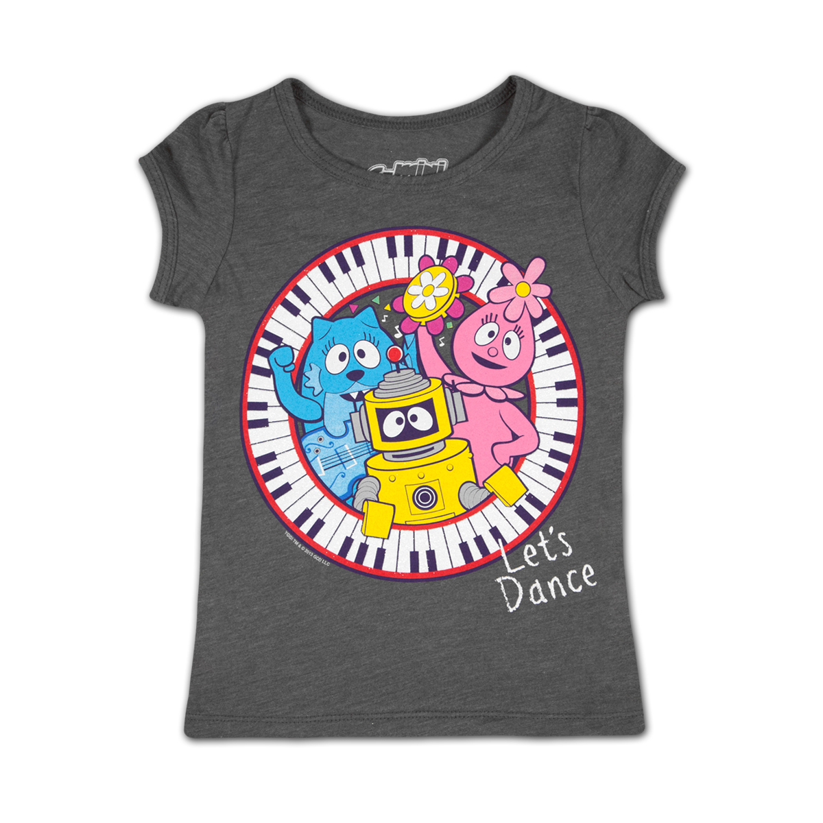 Yo Gabba Gabba! Piano Trio Girls T-shirt