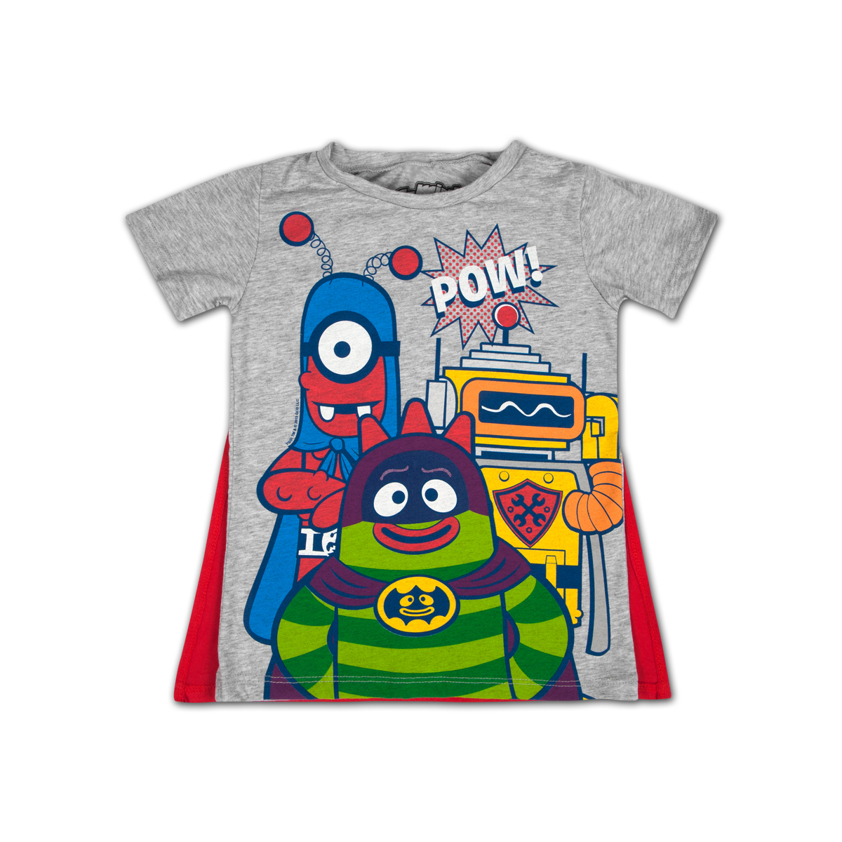 Yo Gabba Gabba! Superhero Cape Toddler T-shirt