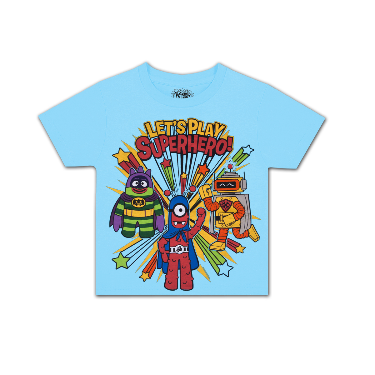 Yo Gabba Gabba! Superhero Toddler T-shirt