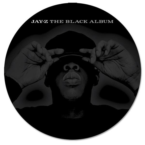Jay-Z The Black Album Slipmat. Item #: YZAM05