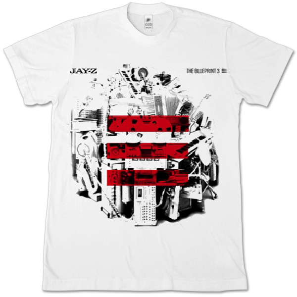 Jay-Z The Blueprint 3 Album T-Shirt