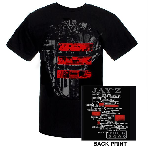 Jay-Z Blueprint 3 Studio Event T-Shirt