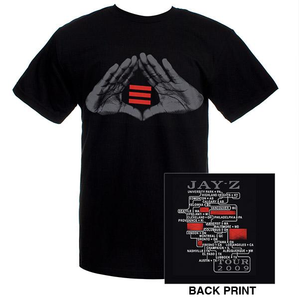 Jay-Z Blueprint 3 Hands Event T-Shirt