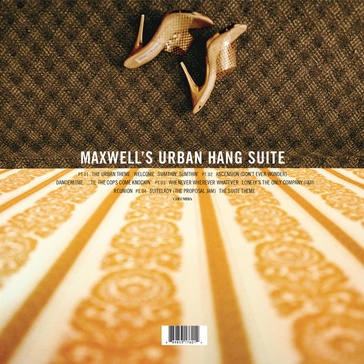 Maxwell Urban Hang Suite 2-disc LP