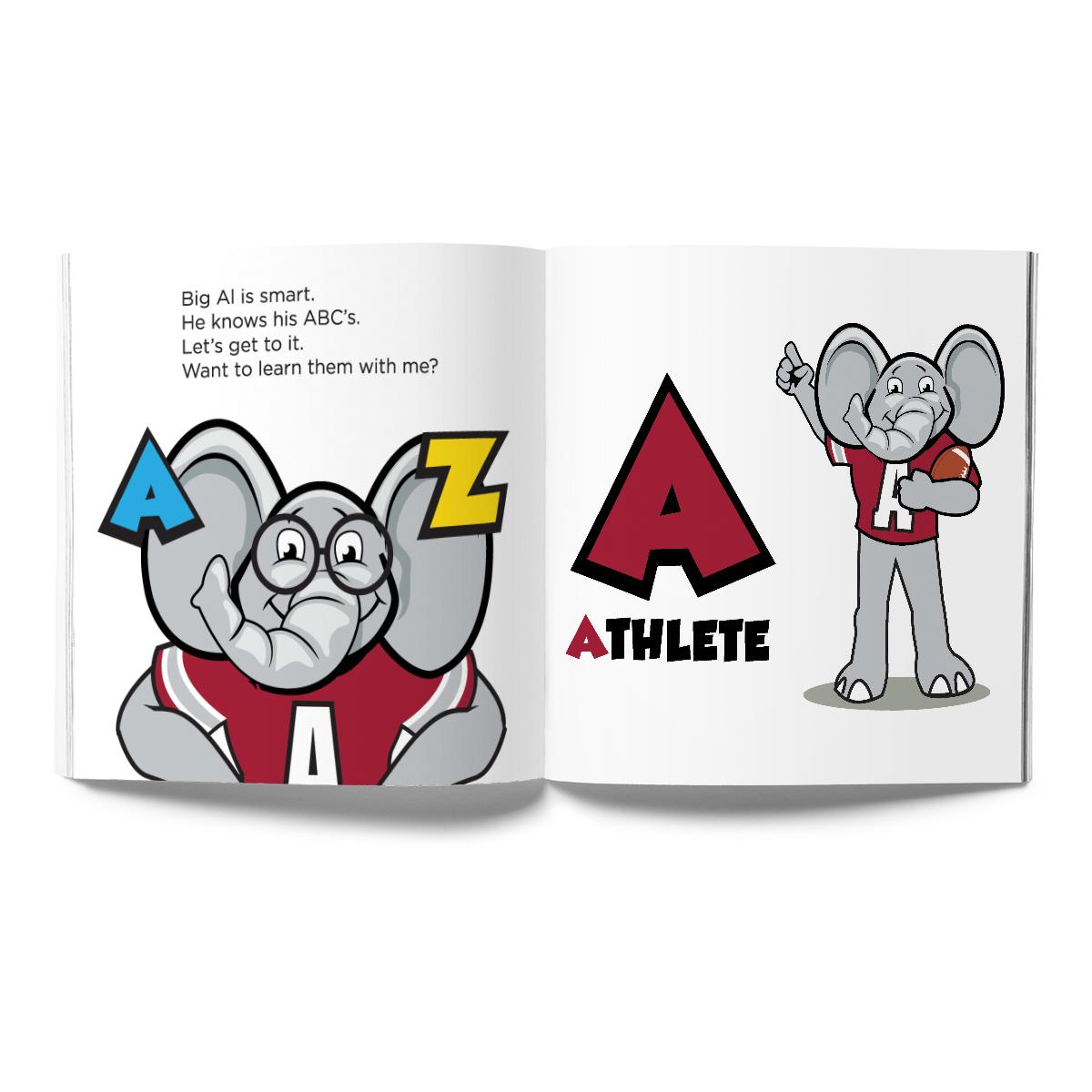 Alabama Crimson Tide- Big Al, My Pal Book